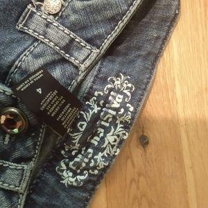 Paisley Sky Jeans - Pants